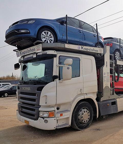 Μεταφορές Αυτοκινήτων - Γ. Καψιώχας Α.Ε.Β.Ε. - Εξουσιοδοτημένος Έμπορος Kosmokar