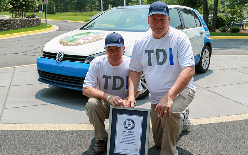 Volkswagen Guinness World Record