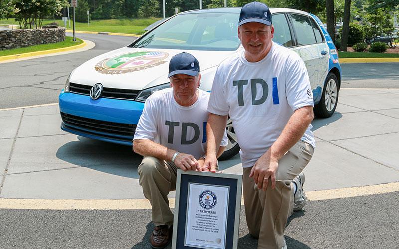 Volkswagen Guinness World Record
