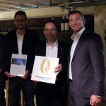 Απονομή Βραβείου Ποιότητας Υπηρεσιών Volkswagen - Γ. Καψιώχας Α.Ε.Β.Ε. - Εξουσιοδοτημένος Έμπορος Kosmokar